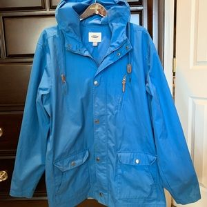 Blue Parka Style Jacket